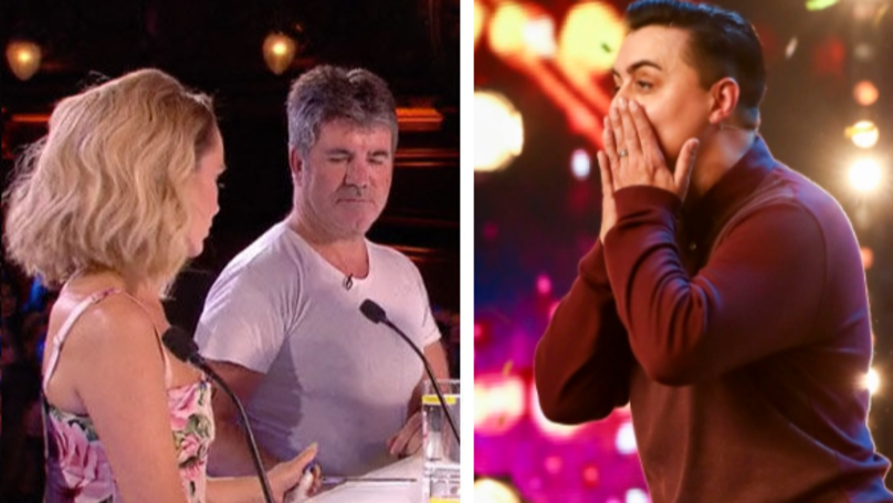 Viewers Furious After Spotting Amanda Holden Give Hand Sanitiser To Simon Cowell