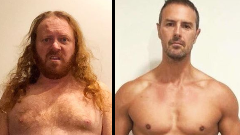 Keith Lemon Trolls Paddy McGuinness With Topless Instagram Post