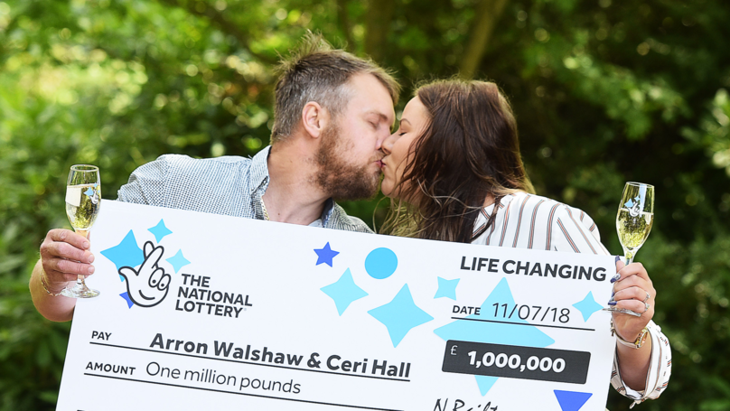 £1m Lottery Winners Thank Shopper For Letting Them Jump Queue To Buy Lucky Ticket