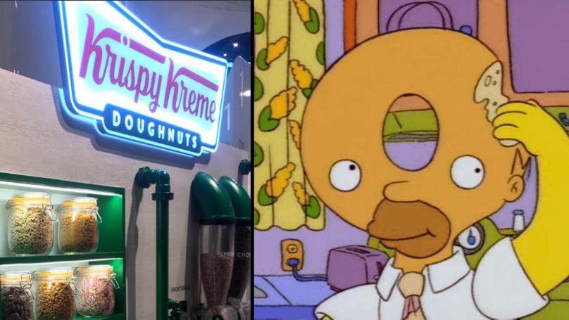 The UK Has Its Very Own Krispy Kreme DIY Station