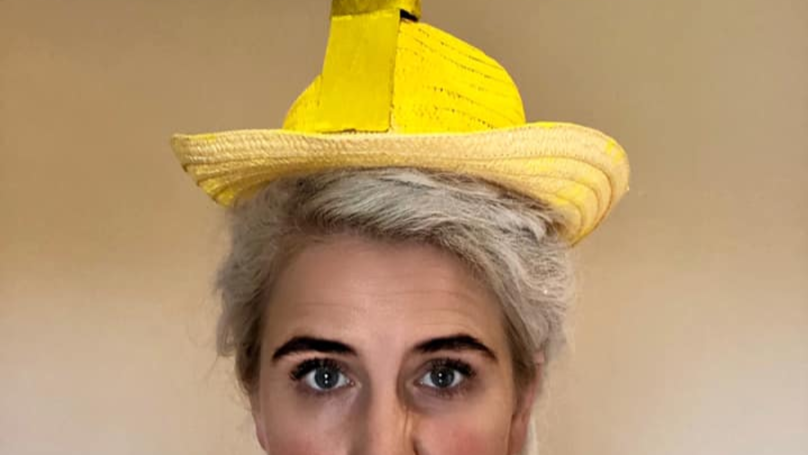 Mum Tries To Create Easter Bonnet, Ends Up Making Giant Penis Hat