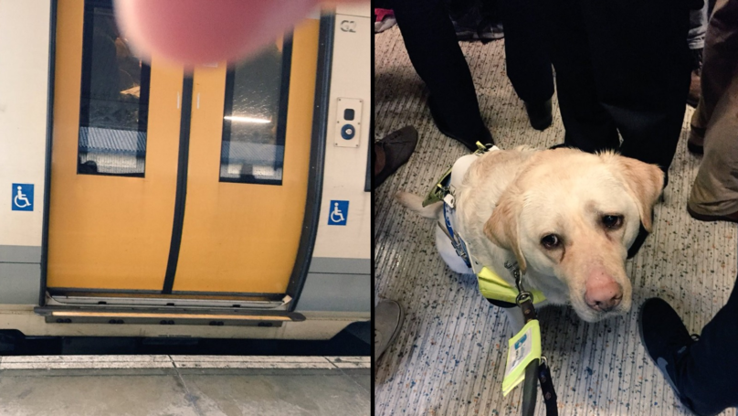 Blind Man Brought To Tears After Londoners Refuse To Give Up Seats