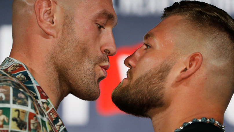 Fury vs Schwarz: Live Stream And TV Channel Details For Las Vegas Heavyweight Clash