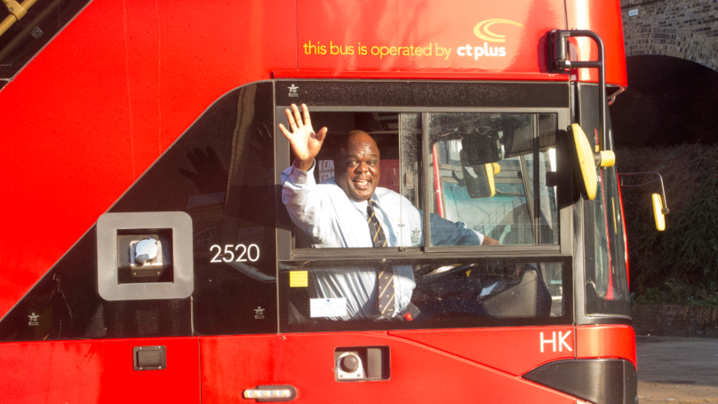 Former Homeless Man Has Been Named The 'Happiest Bus Driver' In London