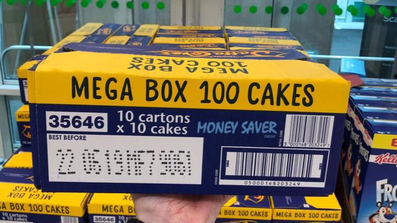 Asda Is Selling 'Mega Boxes' Of 100 Jaffa Cakes For £4