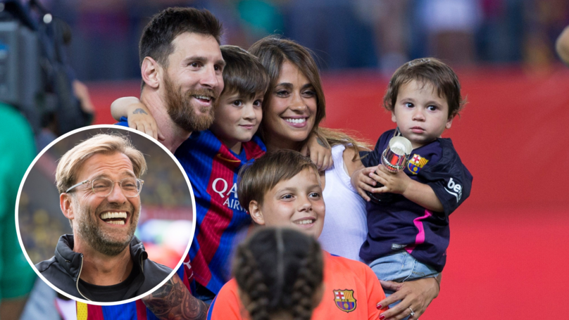 Lionel Messi Hilariously Admits His Son Makes Liverpool Jabs When They're Playing Football