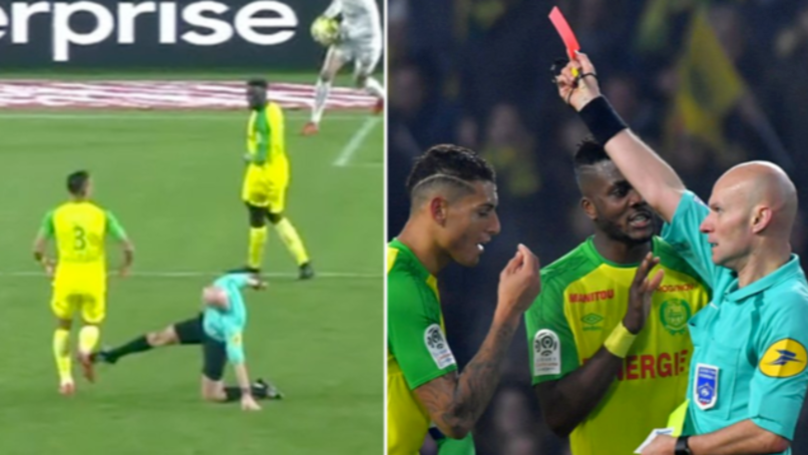 Referee Who Kicked Player Reportedly Named Ligue 1 Ref Of The Year