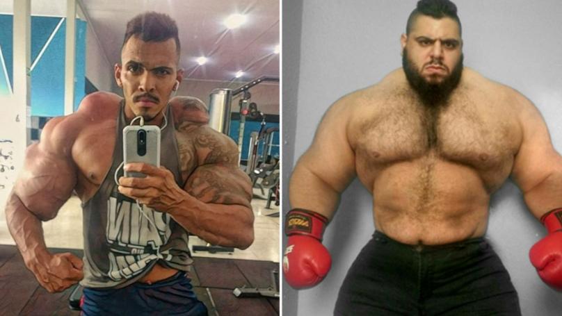 19 Stone 'Brazilian Hulk' Agrees To Fight 28 Stone 'Iranian Hulk' In MMA Bout