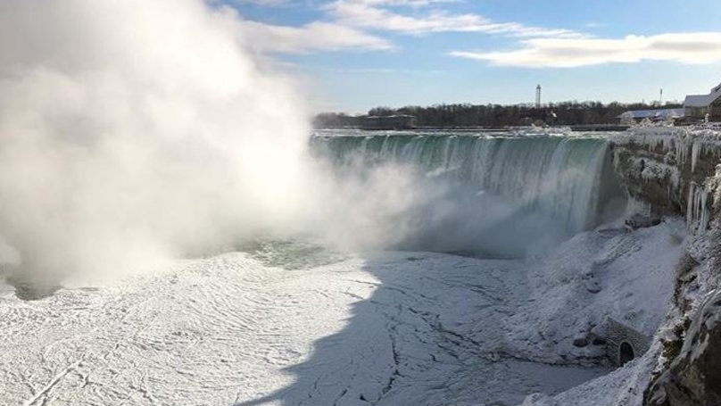 Niagara Falls Looks Like It Has Frozen Over And The Pictures Are Amazing