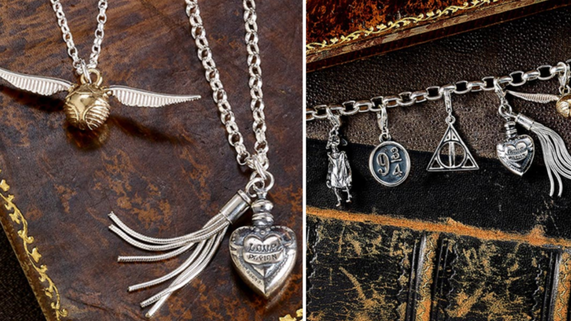H.Samuel's New Harry Potter Jewelry Collection Will Whisk You Straight To Hogwarts