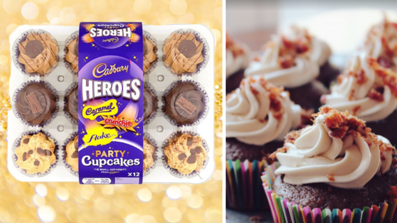 Stop What You're Doing, Asda Is Selling Heroes Party Cupcakes