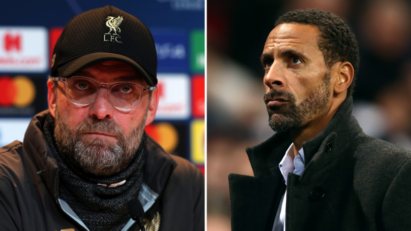 Rio Ferdinand Mocks Liverpool Fans For Coming 'Out Of The Woodwork After 20 Years'