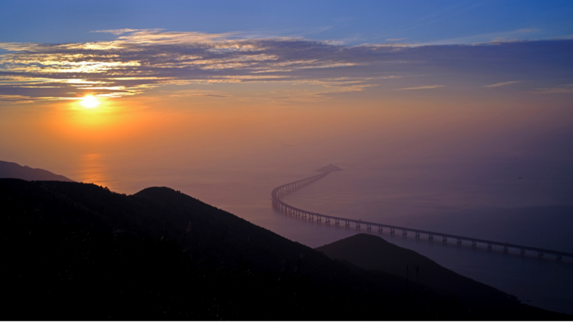 ​World's Longest Sea-Crossing Bridge Opens This Week Connecting Hong Kong, Zhuhai And Macau Bridge