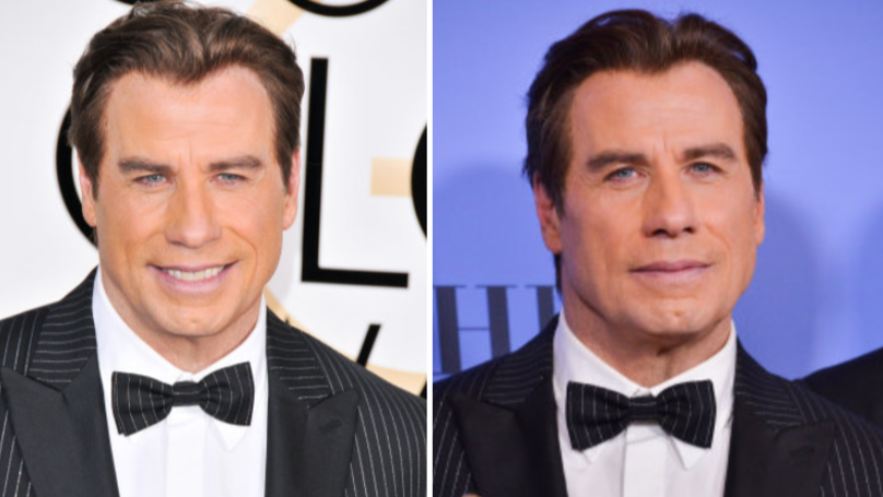 ​John Travolta Sports A Mullet Hairdo And Glasses For New Film Role