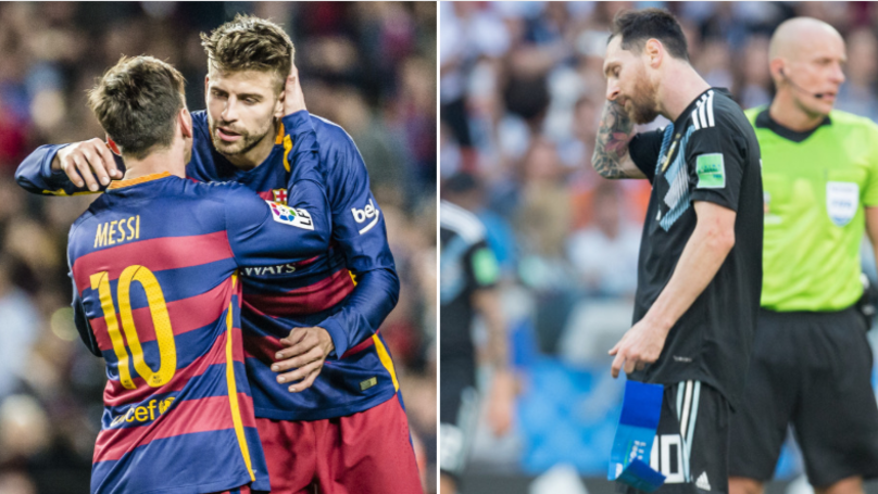 Gerard Pique Drops A Truth Bomb About Lionel Messi And Argentina