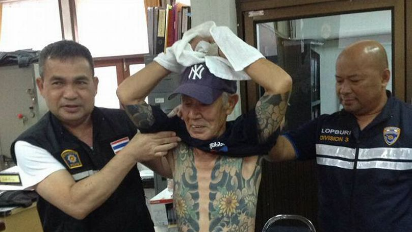 ​Fugitive Yakuza Boss Arrested In Thailand After Full Body Tattoos Go Viral