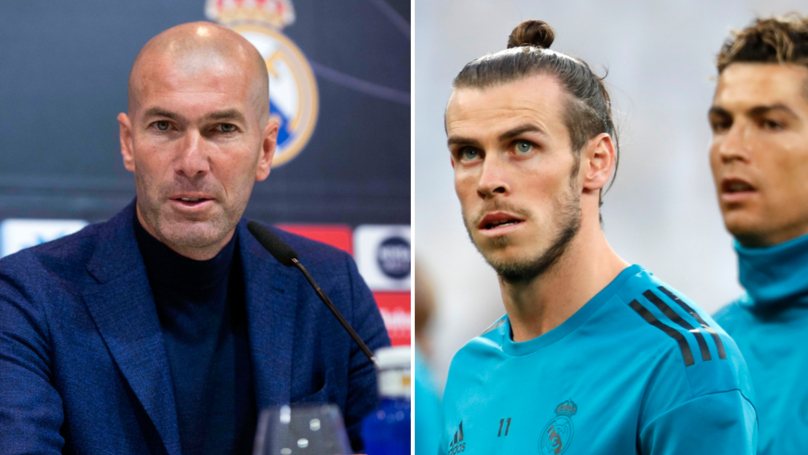 What The Real Madrid President Wanted Zinedine Zidane To Do With Gareth Bale And Cristiano Ronaldo