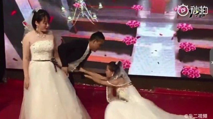 Bride Shocked As Groom's Ex Crashes Wedding Wearing Bridal Dress