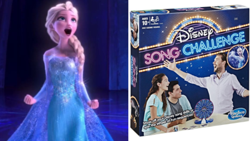 This Disney Song Challenge Game Is Perfect For All Karaoke Queens