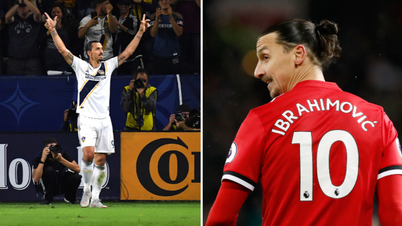 Zlatan Ibrahimovic Answers Rumours About Potential Return To Manchester United