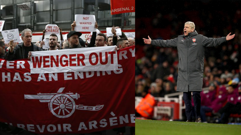 ​Wenger OUT Odds Slashed