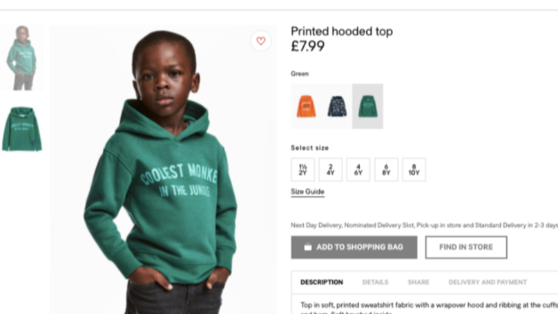 Mother Of H&M Kid Tells People To 'Get Over It'