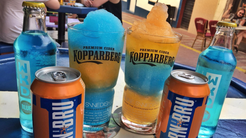 Cool Down This Bank Holiday With This Irn Blue WKD Frozen Cocktail