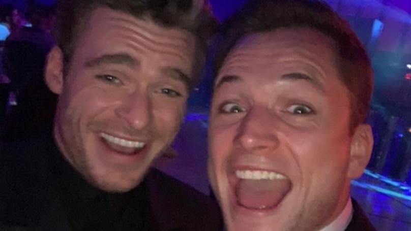 Taron Egerton Shares Moment His Mate Richard Madden Landed Marvel Gig