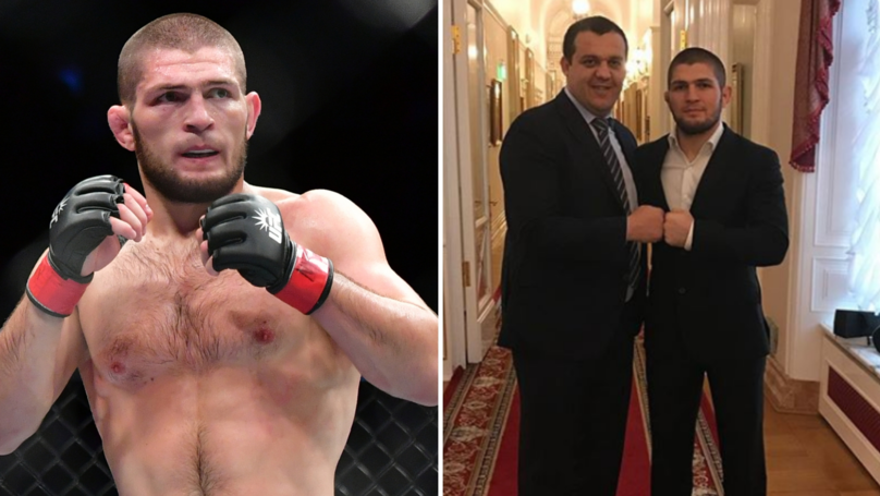 Khabib Nurmagomedov Has An Offer For A Boxing Fight This Summer