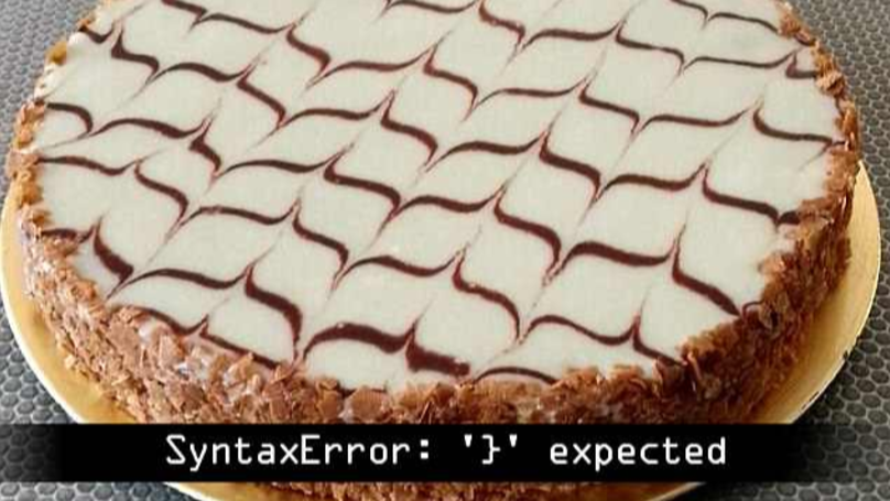 Cake With Optical Illusion Icing Pattern Sets Reddit On Fire