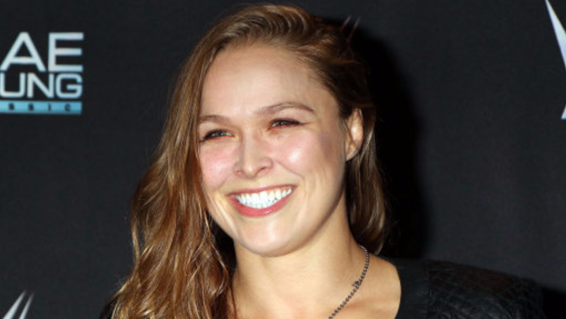 ​Ronda Rousey Snuck Into Blizzcon Dressed As A World Of Warcraft Death Knight