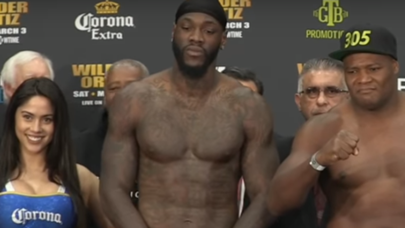 Watch: Deontay Wilder Scares The Living Sh*t Out Of Corona Girl