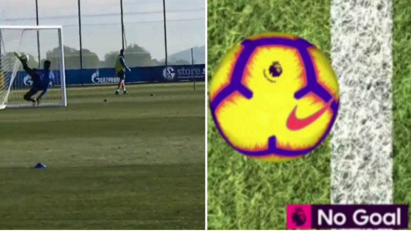 Schalke Mock Liverpool Fans On Twitter After Goal-Line Clearance In Training
