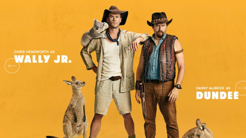 Have Danny McBride And Chris Hemsworth Just Secretly Made A 'Crocodile Dundee' Reboot?