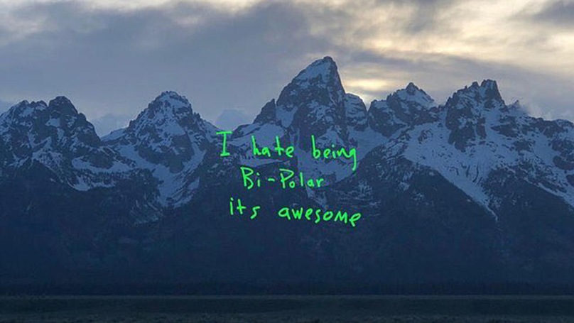 People Are Ripping Kanye For Creating 'Ye' Album Cover At Last Minute