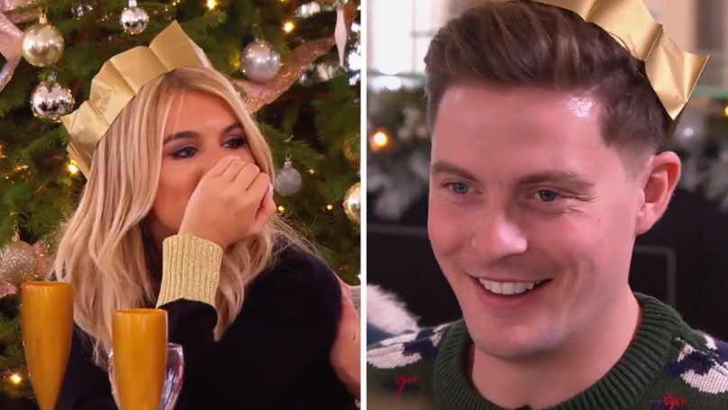 Hayley Hughes And Alex George Had The Most Awkward Moment During 'Love Island' Reunion