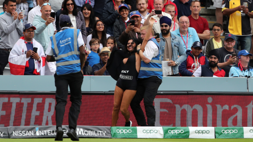 Pitch Invader At Cricket World Cup Final Believed To Be Porn Site Owner's Mum