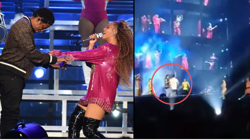 Man Storms Stage Towards Beyoncé And Jay-Z, Gets Floored By Dancers
