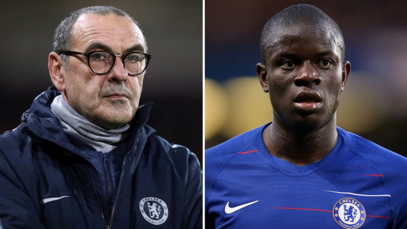 What Maurizio Sarri Has Done With N'Golo Kanté Is A 'Form Of Footballing Vandalism'