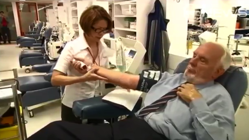 Man Who Has Helped Save Over Two Million Babies Has 'Retired' From Blood Donation