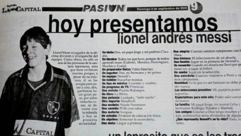 Interview With A 13-Year-Old Lionel Messi Has Resurfaced And Gone Viral