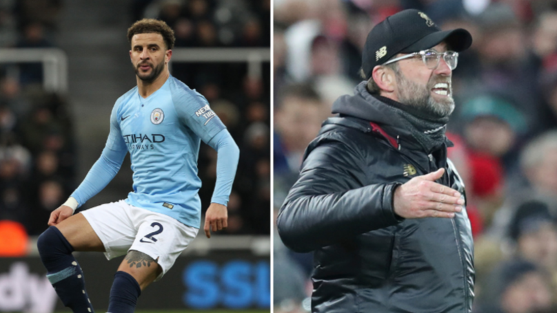 Jurgen Klopp Responds To Kyle Walker Mocking Liverpool For Leicester Draw
