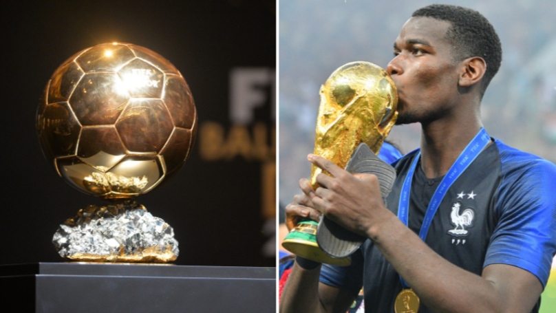 Paul Pogba Reveals Four Men He Thinks Should Win Ballon d'Or