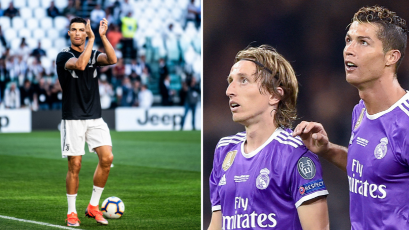 Luka Modric Reveals The Bet He Made With Real Madrid Teammate Over Cristiano Ronaldo