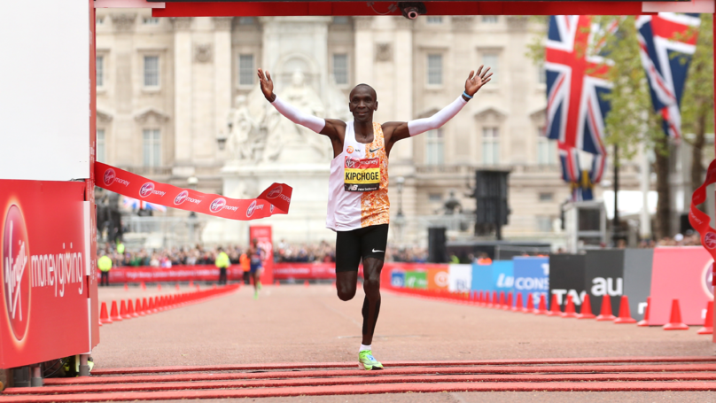 ​Eliud Kipchoge Makes History By Winning London Marathon For The Fourth Time