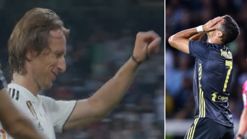 What Real Madrid Fans Chanted To Luka Modric During Leganes Match