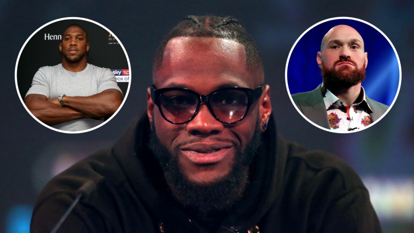 Deontay Wilder Snubs Anthony Joshua And Tyson Fury After Revealing His Next Opponent
