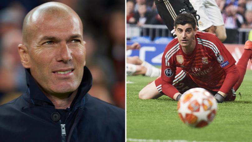 Zinedine Zidane Ready To Sell Thibaut Courtois After Just One Season
