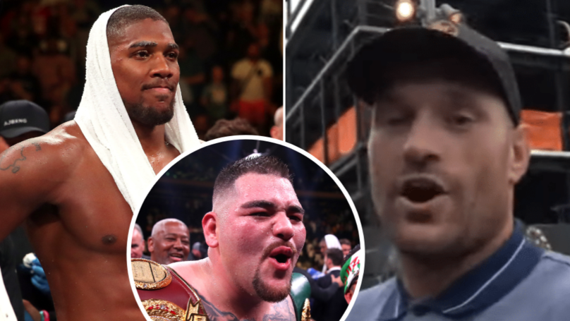 "Tyson Fury: ""Nobody Likes Anthony Joshua Anymore, He Got KO'd By A Little Fat Guy"""