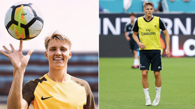 Martin Odegaard Set For Shock Loan Move To England